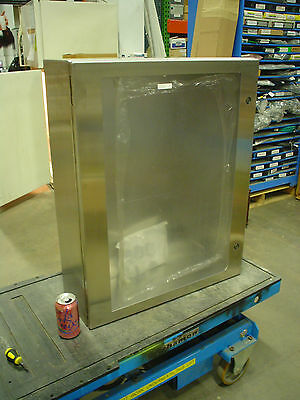Hoffman Csd30248wss Stainless Enclosure W Large Window