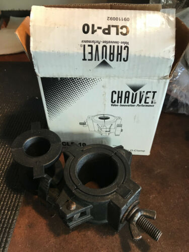 Chauvet CLP-10 360° Wrap Around O-Clamp Half Coupler For Lighting Stands & Truss