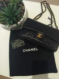 Authentic Chanel Vintage Classic Double Flap Medium Darlinghurst Inner Sydney Preview