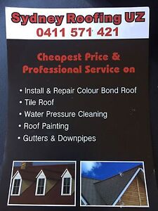 Sydney Roofing Uz Marrickville Marrickville Area Preview