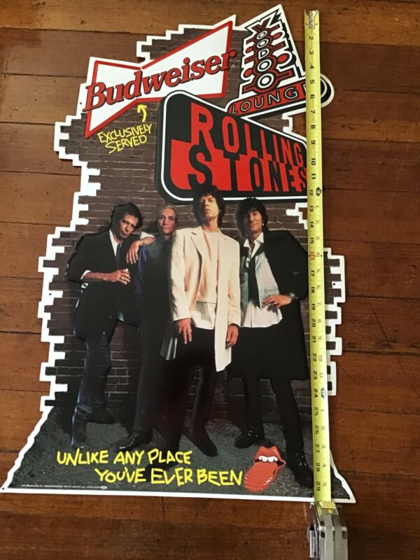 Rolling Stones Voodoo Lounge Metal Poster