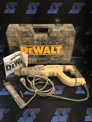 Ma4 Dewalt D25263 3 Mode D-handle Sds Rotary Hammer Drill With Case And Manual
