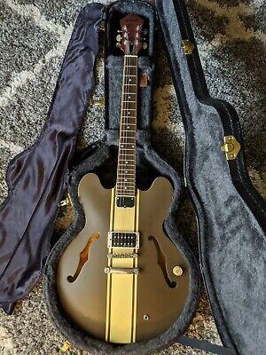 Tom Delonge Epiphone ES-333 with Gibson hardshell case
