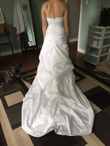 "David's Bridal Wedding Dress ""NEW"""