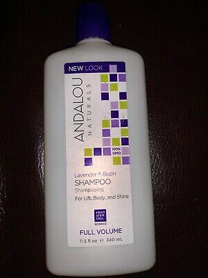 Andalou Naturals  Shampoo  Full Volume Lift Body & Shine Lavender Biotin 11.5 (Andalou Lavender & Biotin Full Volume Shampoo)