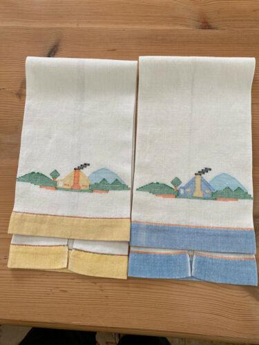 Vintage Guest Towels Set of 2