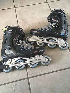 Patin a roulette ou rollerblade