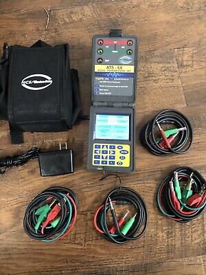 Electrodata Ncs-5x Audio Transmission Set Ncs Audio Frequency Impairments