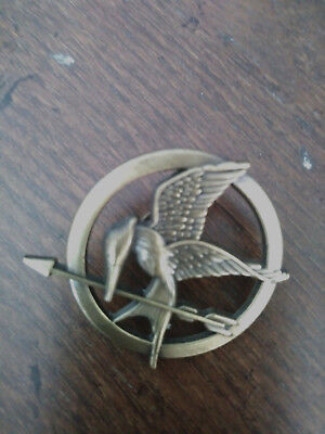 Brooch Pin  Hunger Games Mocking Jay   Lions Gate Films   Used