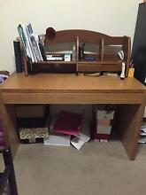 timber study desk for sale in good condition Strathfield Strathfield Area Preview