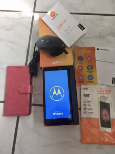 Android Phone - Motorola Moto e5 Play Unlocked Mobile Phone in Excellent Condition Boxed