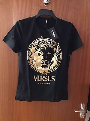 versace t shirt large Beautiful Genuine T Shirt Black And Gold