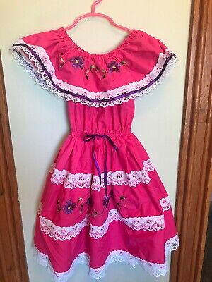 Sweet lil dress from Mexico.  Size 3