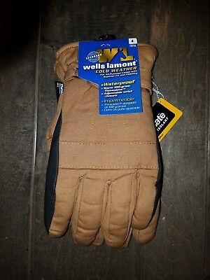 Wells Lamont 1075 Cold Weather Waterproof Breathable Gloves