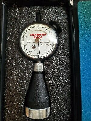 Dyer Chamfer Gage .001 Dia 90-127 Degree