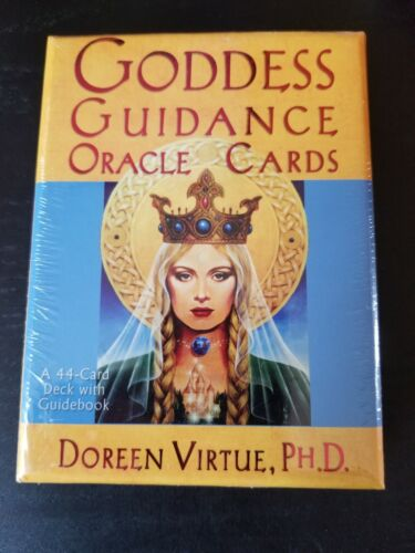 Vintage Authentic Goddess Guidance Oracle Cards - Doreen Virtue Brand New Sealed