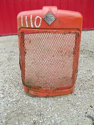 Allis Chalmers D17 Ac Tractor Original Front Nose Cone Grill Assembly W Emblem