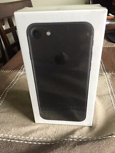 Brand-new 32 GB black iPhone 7 Still has the factory seal on it