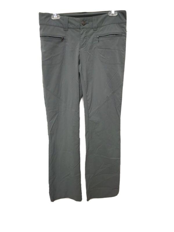 Columbia Omni-Shield Advanced Repellency Grey Hiking Pants Womens Sz 6 Regular