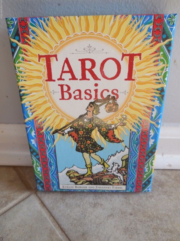 TAROT BASICS DECK CARDS BOOK BOXED NEW PSYCHIC PAGAN MEDITATION CAT CHARITY