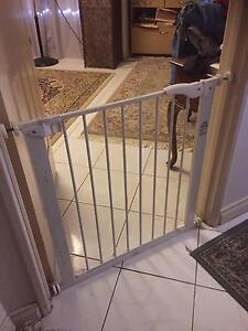 White Metal Safety Gate Beckenham Gosnells Area Preview