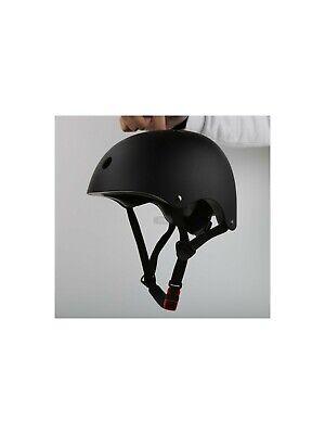 Black Skateboard/Bike Helmet Adult/Youth Size Large/Medium New