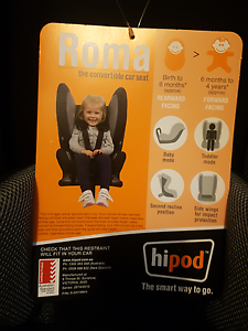 Hipod Carseat Craigmore Playford Area Preview