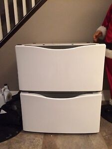 Washer and Dryer Pedestals and Storage Drawers