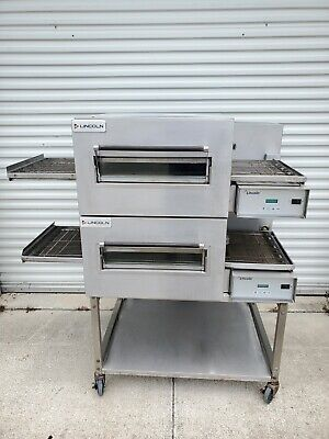 Lincoln Impinger 1162 Electric Double Stack 18 Conveyor Pizza Ovens 208v 3ph