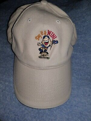 Dominos Pizza & Coca Cola Hat Baseball Cap, Say it and Win promotion, adjustable