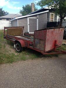 Utility / quad / motorcycle trailer