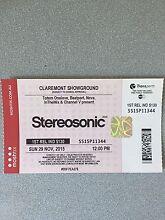 Stereosonic ticket (Hard Copy) Yangebup Cockburn Area Preview