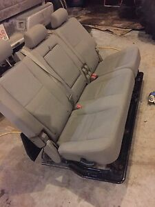 2008 Dodge mega cab cloth seats