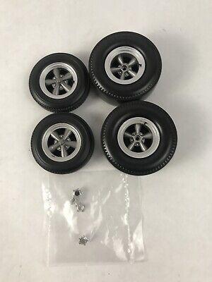 GMP ACME 1/18  Torq Thrust Style Drag Wheel & Tires Set #A1806502W K10