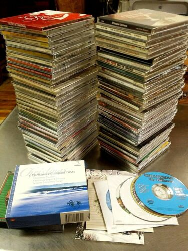 73 Piece Christmas Holiday Music CD Lot