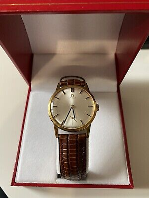 Gold Omega Sub Seconds Watch Cal.269 Dating To 1962