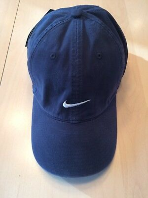 3e107a07743 Vintage Nike Baseball Golf Hat Strapback Embroidered Swoosh Cotton New with  Tag