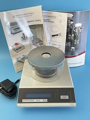 Denver Instrument Xs-210 Analytical Balance Scale Tested