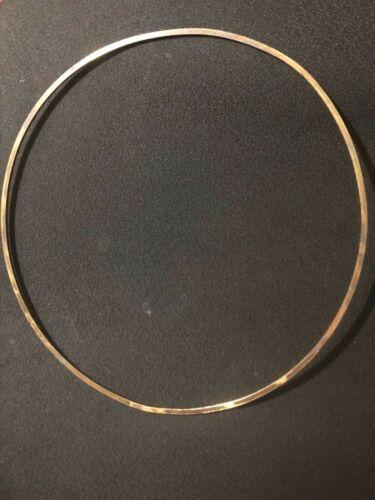 Vintage Flesh Hoop (approx. circa 20s Brass banjo/ pot /for natural skin app.)