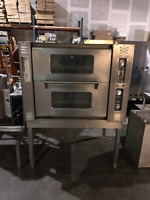Market Forge Electric Convection Oven With Heavy Duty Stand Sold As Shown