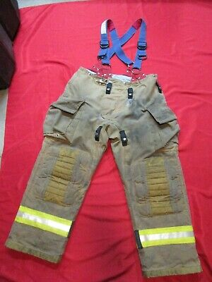 Mfg 2013 42 X 31 Morning Pride Fire Fighter Turnout Pants Bunker Gear Rescue