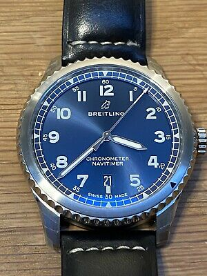 Breitling Navitimer 8 41mm Steel and Leather Watch, Ref. A17314101C1X2