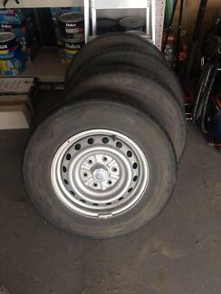 2015 Triton Ute Wheels 4x205R16
