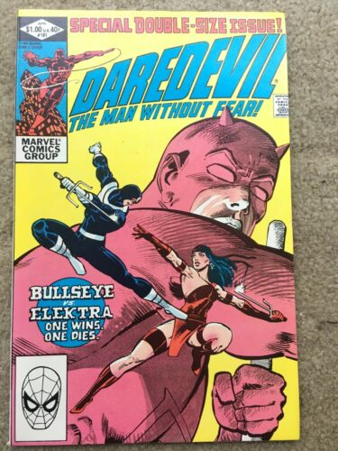 Daredevil #181 *Death of Elektra*