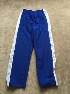 Ringette Pants, elastic waist, blue, adult XL, new with tags
