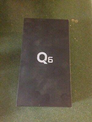 BRAND NEW SEALED LG Q6 32 GB Smartphone - Platinum - 5.5 Unlocked