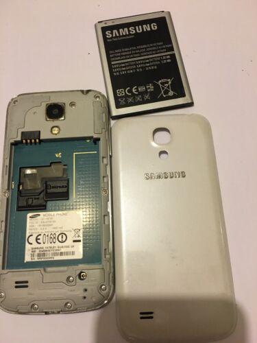 ???? samsung galaxy s gt-i9195 smartphone non testé sans chargeur blanc s4 mini