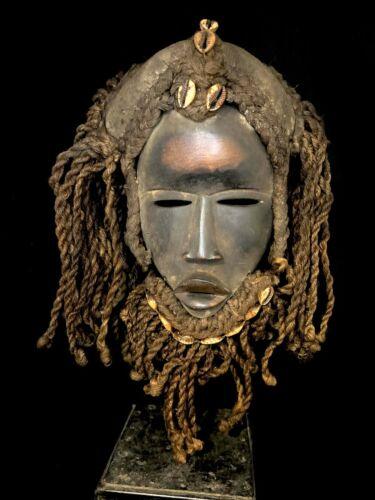 Fire witch Mask - DAN - Ivory Coast  (70074)