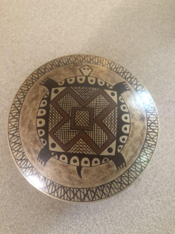 Native American Hopi Seed Pot Pottery Signed Nona Naha.  Free Shipping!