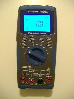 Agilent U1242a True-rms 10000 Count Handheld Dmm